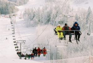 Самые популярные горнолыжные курорты в Беларуси