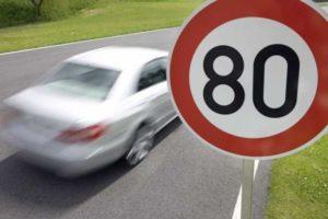 Размер штрафа за превышение скорости в Беларуси в 2017 году